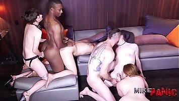 Trans Hotel Orgy 1